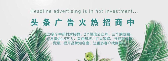 陇萃源-头条广告火热招商中......