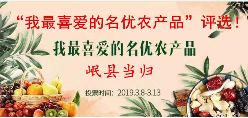 陇上最受欢迎十大地标品牌农产品评选